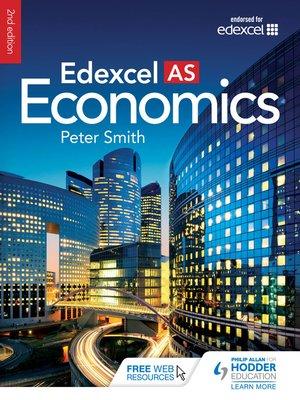 cover image of Edexcel AS Economics