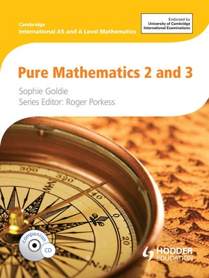 pure mathematics 2 and 3 sophie goldie pdf