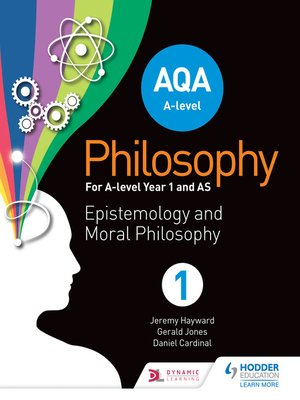 cover image of AQA A-level Philosophy Year 1 and AS