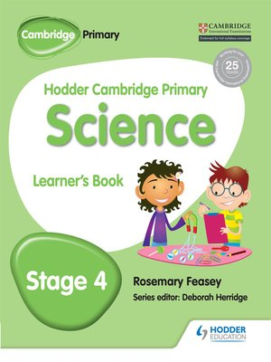 cover image of Hodder Cambridge Primary Science Learner's Book 4