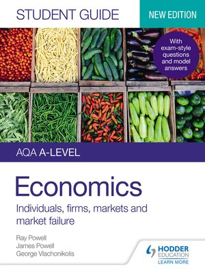 cover image of AQA A-level Economics Student Guide 1