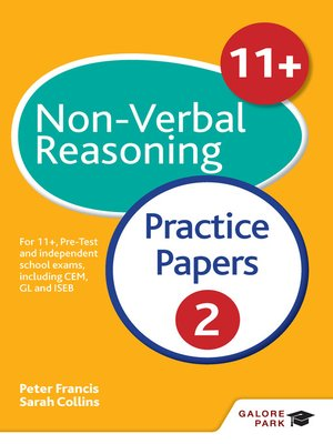 cover image of 11+ Non-Verbal Reasoning Practice Papers 2
