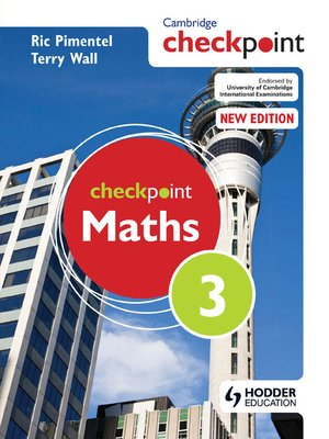 Cambridge Checkpoint Maths Students Book 1