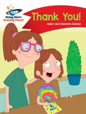 cover image of Reading Planet - Thank You - Red B: Comet Street Kids