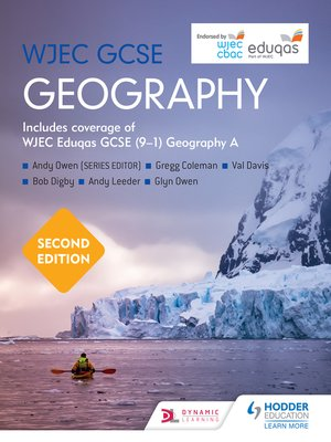cover image of WJEC GCSE Geography