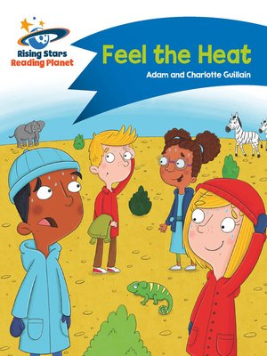 cover image of Reading Planet--Feel the Heat--Blue