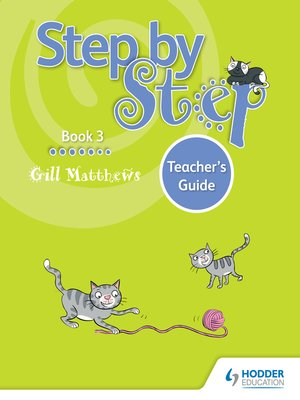 cover image of Step by Step Book 3 Teacher's Guide