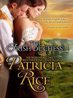 cover image of The Irish Duchess