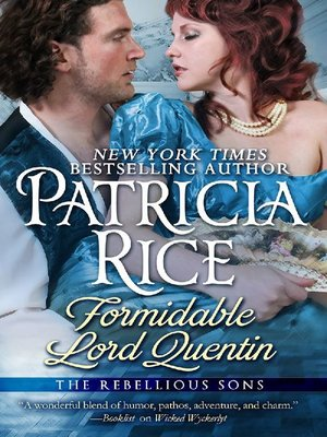 cover image of Formidable Lord Quentin