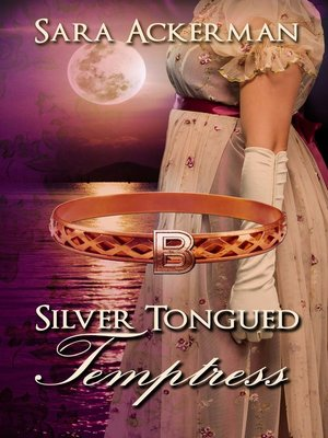 cover image of Silver-Tongued Temptress