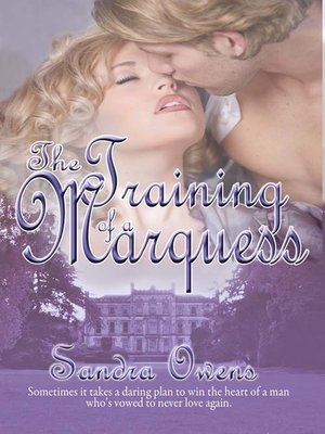 cover image of The Training of a Marquess