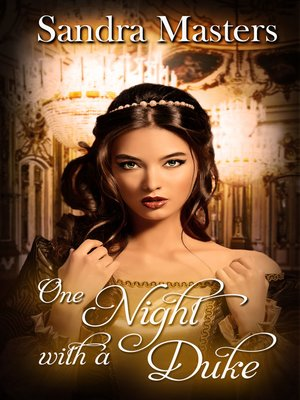 cover image of One Night with a Duke