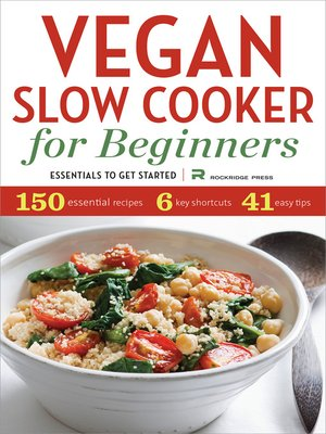 cover image of Vegan Slow Cooker for Beginners