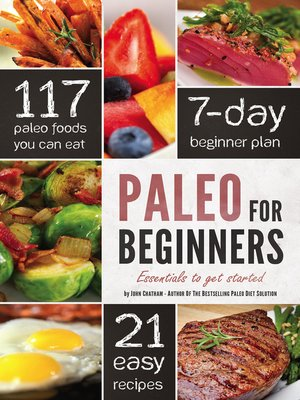 cover image of Paleo for Beginners