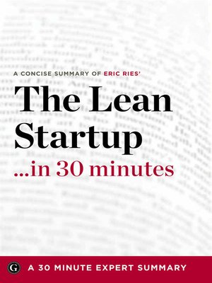 cover image of The Lean Startup …in 30 Minutes