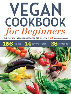 cover image of Vegan Cookbook for Beginners