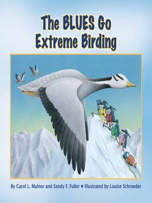 cover image of The Blues Go Extreme Birding