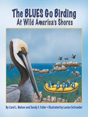 cover image of The Blues Go Birding at Wild America's Shores