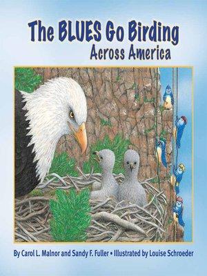cover image of The Blues Go Birding Across America