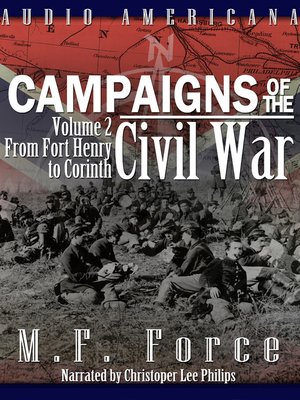 cover image of Campaigns of the Civil War, Vol 2