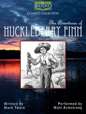 cover image of The Adventures of Huckleberry Finn