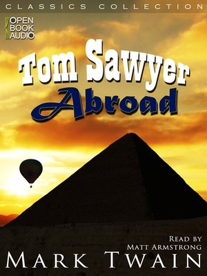 cover image of Tom Sawyer Abroad