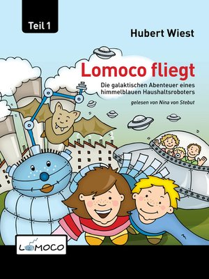 cover image of Lomoco fliegt