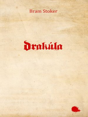 cover image of Drakúla