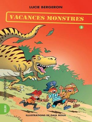 cover image of Les Trois Jojo 03--Vacances monstres
