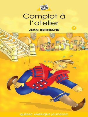 cover image of Mathieu 07--Complot à l'atelier