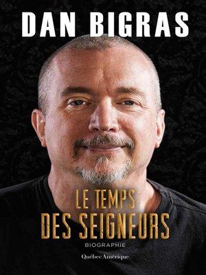 cover image of Le Temps des seigneurs