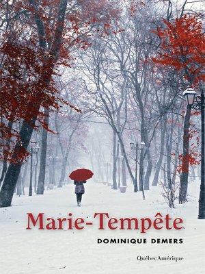 cover image of Marie-Tempête