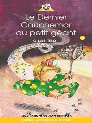 cover image of Petit géant 12--Le Dernier Cauchemar du petit géant