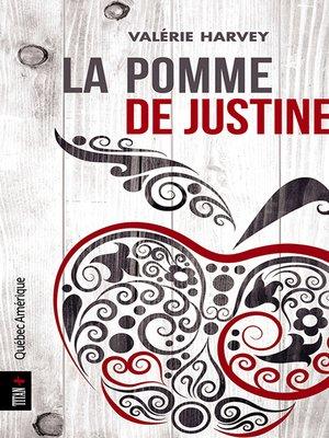 cover image of La Pomme de Justine