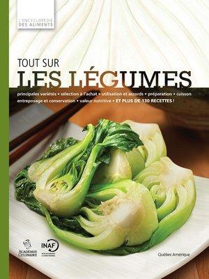 cover image of Tout sur les légumes