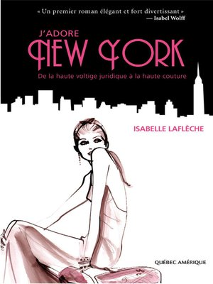 cover image of J'adore New York