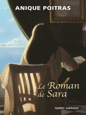 cover image of Le roman de Sara
