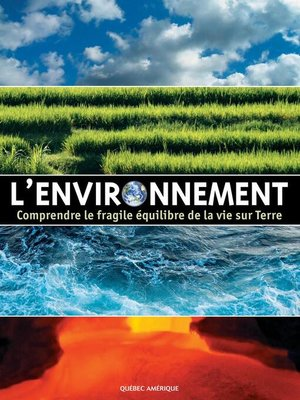 cover image of L'Environnement