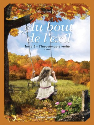 cover image of Au bout de l'exil, Tome 3