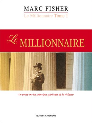 cover image of Le Millionnaire, Tome 1