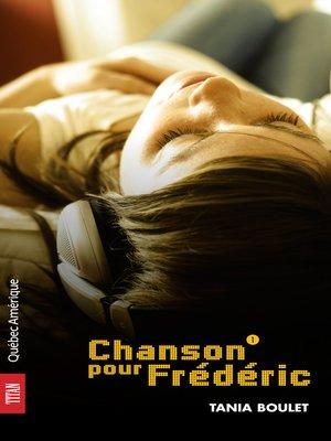 cover image of Maxine 01--Chanson pour Frédéric