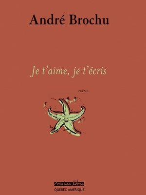 cover image of Je t'aime, je t'écris