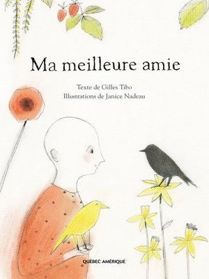 cover image of Ma meilleure amie
