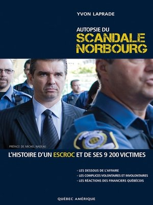 cover image of Autopsie du scandale Norbourg