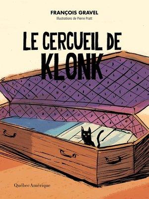 cover image of Le cercueil de Klonk