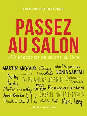 cover image of Passez au salon