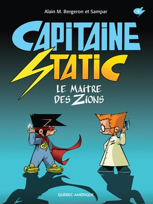cover image of Capitaine Static 4--Le Maître des Zions