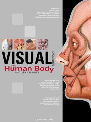 cover image of The Visual Dictionary of the Human Body