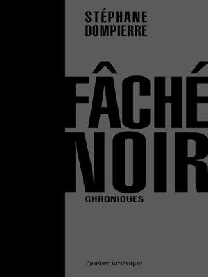 cover image of Fâché noir