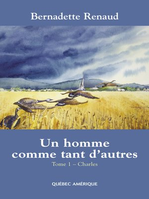 cover image of Un homme comme tant d'autres Tome 1--Charles